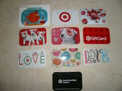 1 Target GIFT CARD COLLECTIBLE NO $ VALUE COLLECTOR