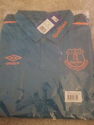 Everton Poly Polo mens Large