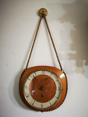 Wall clock made in Germany very nice