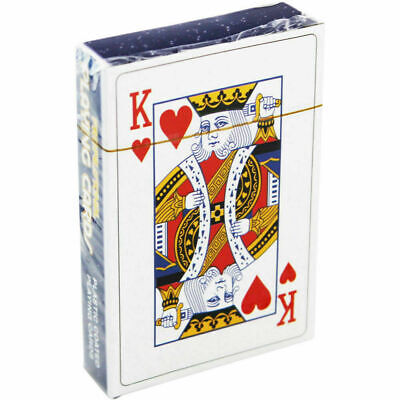 Professional Plastic Coated Playing Cards Snap Casino Poker Fun Family Brand New