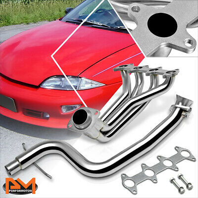 SILVER PAINT FINISHED HEADER FOR 95-02 CAVALIER//SUNFIRE LN2 2.2 EXHAUST//MANIFOLD