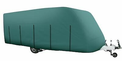 HOBBY 640 UK COLLECTION LUXURY 640 2007 HEAVY DUTY CARAVAN COVER GREEN 4PLY