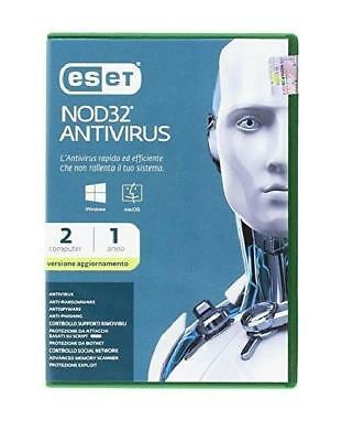 Eset SOFTWARE NOD32 ANTIVIRUS UPGRADE 2USER (98103) (0000019396)
