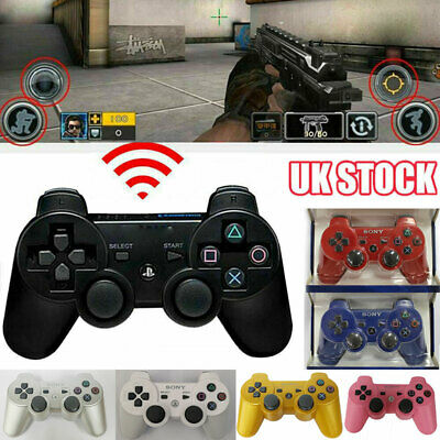 7 Colours For PS3 PlayStation 3 DualShock Wireless Controller Gamepad Joystick