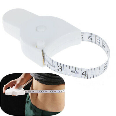 Body Tape Measure for measuring Waist Diet Weight Loss Fitness Heal~GN