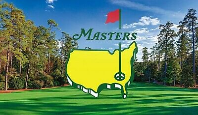 2 Masters Golf Tournament 2020 Practice Round Tickets Monday, April ??--Full Day