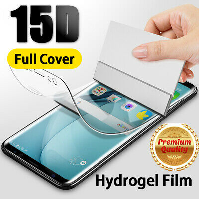 15D Hydrogel Protective Film Screen Protector For Samsung Galaxy S10 S9 Note 10