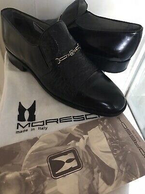 Moreschi Peccary / Calf Mens Shoes Size 6.5