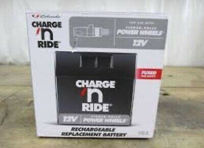 Schumacher Charge And Ride Power-Wheels Replacement Battery