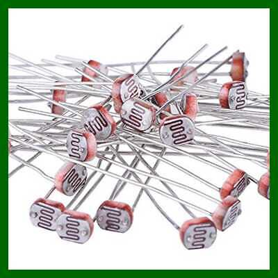 30 PC Photoresistor Photo Light Sensitive Resistor Dependent 5 Mm GM5539 5539