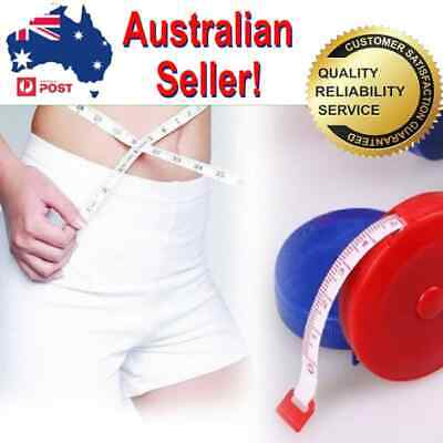 Portable Retractable Ruler Tape Measure Sewing Cloth Dieting Tailor 1.5m