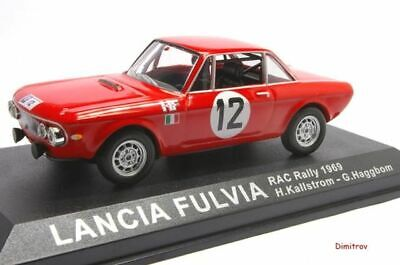 Rally Collection Altaya Lancia Fulvia Kallstrom RAC 1969 IXO 1/43 cochesaescala