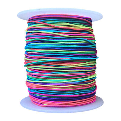 100M Elastic Stretchy Beading Thread Cord Bracelet String Jewellery Making US
