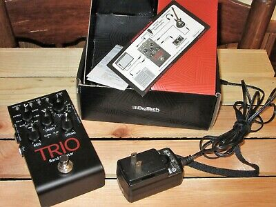 Digitech Trio Band Creator Pedal - Bass & Drum backing w/orig Box
