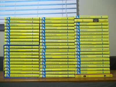 Lot of 57 Nancy Drew Hardcovers - Complete Original Series 1 to 56 + Sleuth Book