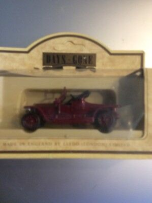 LLEDO MODEL 1907 Rolls Royce Silver Ghost Coupe DAYS GONE DIECAST