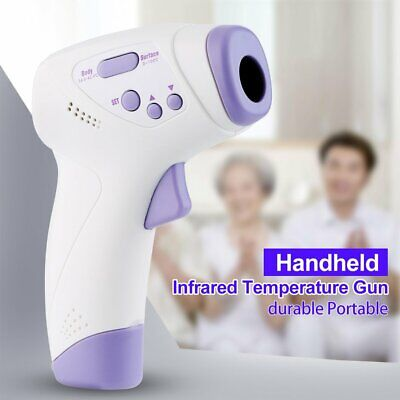 Hospital Medical Grade NonContact Digital Temporal Forehead Infrared Thermometer