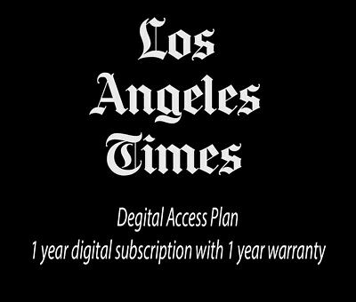 Los Angeles Times LATimes 6 Months Digital Subscription with 6 months warranty