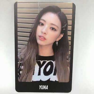 Itzy Yuna Official 2nd Mini Album IT'z ME Photocard B Photo Card jyp ent Kpop
