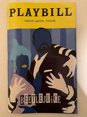 Beetlejuice Broadway Musical SPECIAL February 2020 Playbill
