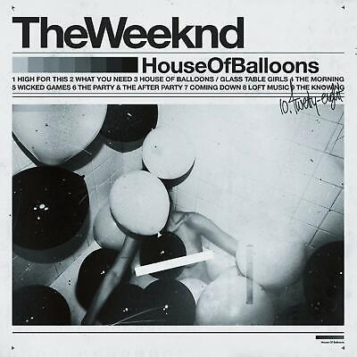 The Weeknd - House Of Balloons (2012)  CD  NEW/SEALED  SPEEDYPOST