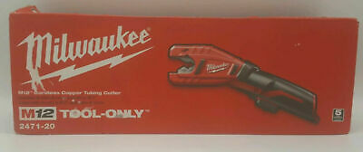 Milwaukee M12 2471-20 Cordless Copper Tubing Cutter (Tool Only) *NEW*