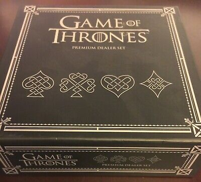 Game of Thrones Premium Dealer Set with Deck of Cards & Metal Coin