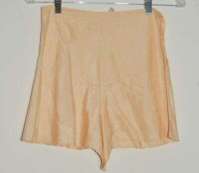 1930's Best & Co. Peach Silk Bias Cut Tap Pants sz 15 w- 26 SM