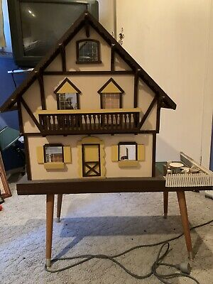 Dolls House Timber with all furniture