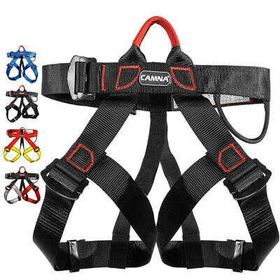Harness Seat Belt Sitting For Outdoor Rock Crag Climbing Rappelling Equip Parts