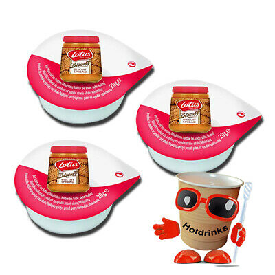 20g Lotus Biscoff Smooth Biscuit Spread Individual Portion Pots, Tubs, Jiggers