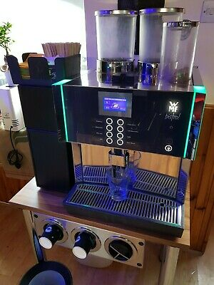 WMF Bistro 8400  COMMERCIAL  Bean to cup COFFEE machine + Milk Fridge