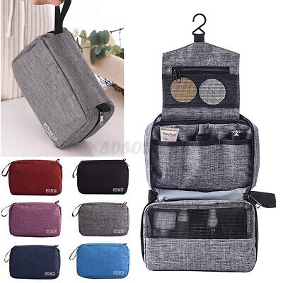 Toiletry Wash Bags Travel Hanging Cosmetic Storage MakeUp Organizer Pouch Cases