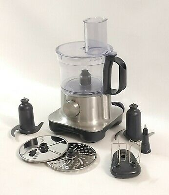 Kenwood FPM250 MultiPro Compact Food Processor 750W 2.1L in Brushed Metal