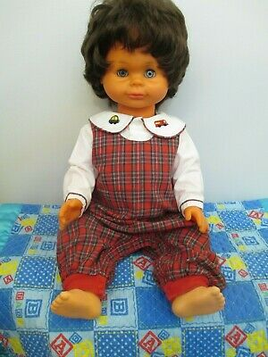 Adorable Vintage All Vinyl & Plastic Lifesize Toddler Doll by Lissi