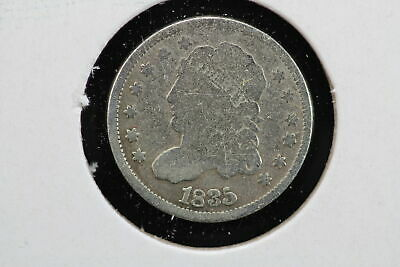 1835 Capped Bust Half Dime Small Date Large 5 Cleaned 00WC