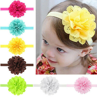 Baby Headband Kids Girls Lace Headbands Hairband Hair Accessories Flower / Bow i
