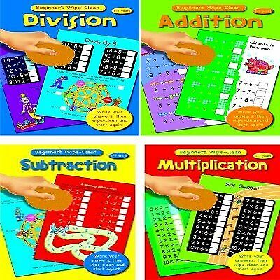 Addition - Beginners Wipe Clean - Ages 3-5 Years, Alligator Books Limited, Used;