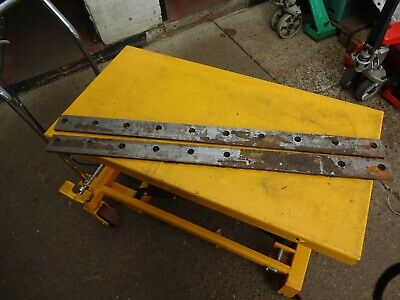 Guillotine Blades new