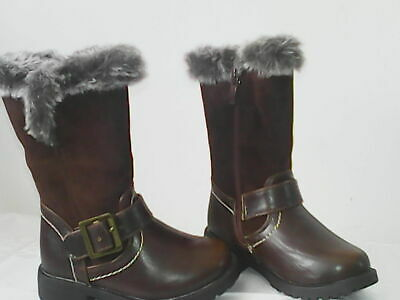 Baby Girl High Boots Shoes Toddler 4 UK/20 EUR Winter Matalan Easter BNWT