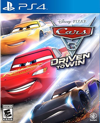 Cars 3:Driven To Win Ps4 Game New