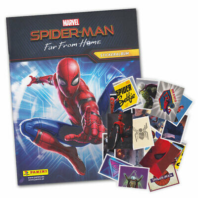 Panini Spider-Man Far From Home 192 Sticker /& 50 Karten o.Komplettset aussuchen