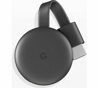 Google Chrome Cast 3rd Generation - Charcoal