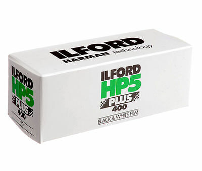 Ilford HP5 Plus - Black & white print film 120 (6 cm) ISO 400 #1629017 5 pack