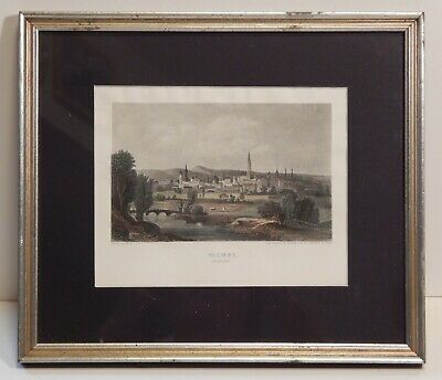 Antique Engraving VIENNE AUTRICHE by French Artist J.F. Lebelle (1800-1820)