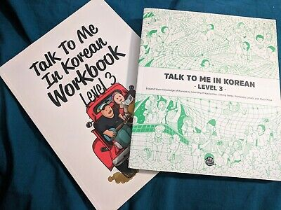 [Learning Korean] TTMIK Talk To Me In Korean Level 3 Textbook and Workbook NEW