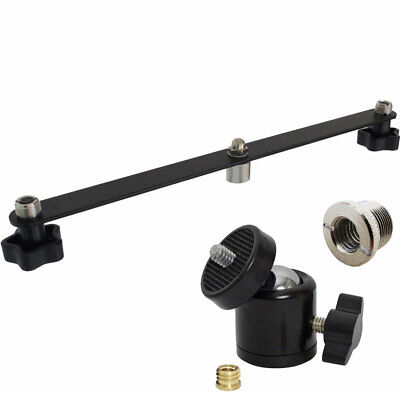 """Photogitems Two Microphone Stand Light tripod 3//8/"""" Nut 5792A"""