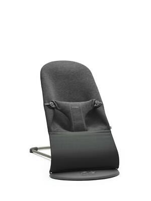 Baby Bjorn Bouncer Bliss (Charcoal Grey Jersey) (BabyBjorn) Free Shipping!