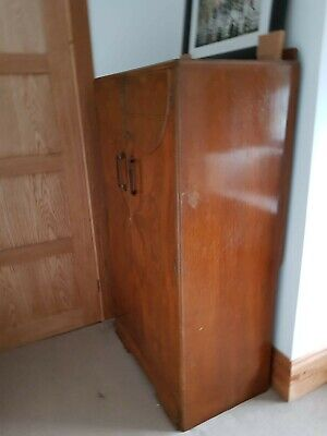 1940s Coat Wardrobe Walnut