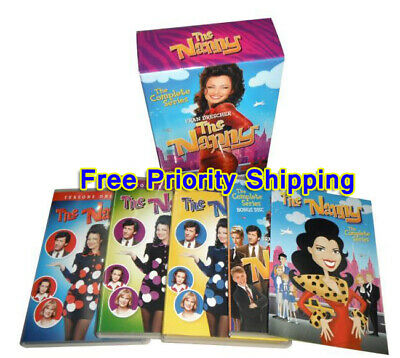 Expedited SHIPPING THE NANNY COMPLETE SERIES New Sealed 19 DVD Set Seasons 1-6